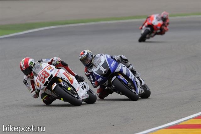 Фотографии MotoGP с Гран При Арагона