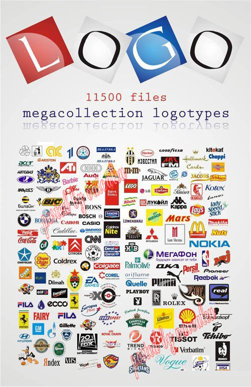 Vector Logo Big Bundle - 800 mb