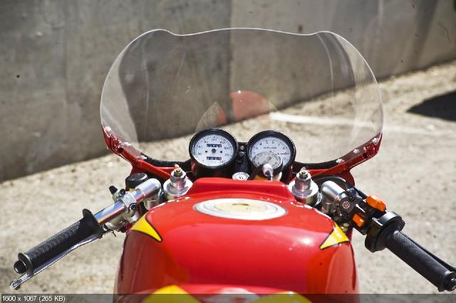 Тюнингованный мотоцикл Radical Ducati 900 TT