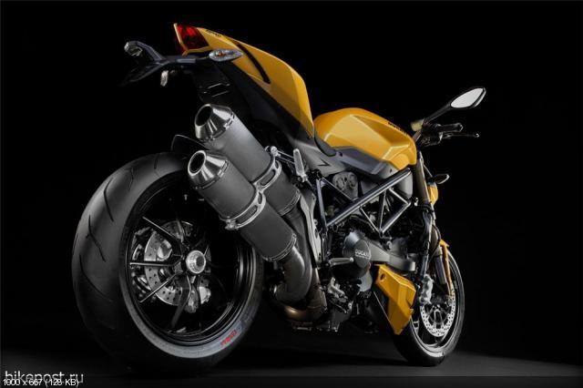 Студийные фото мотоцикла Ducati Streetfighter 848 2012