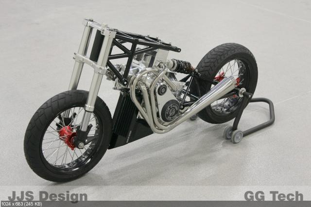 Мотоцикл JJ2S X4 500 - от концепта к прототипу
