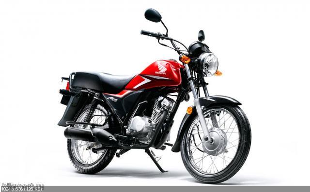 Мотоциклы Honda Ace CB125 и Ace CB125-D 2012