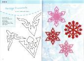 Eisblumen aus Papier (Бумажные снежинки)