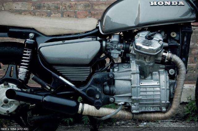 Кастом Honda CX500 1978