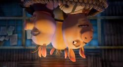 ���������� �����: 3 ��������� � ������� / Unstable Fables: 3 Pigs & a Baby  (2008) DVDRip