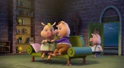 Изменчивые басни: 3 поросенка и ребенок / Unstable Fables: 3 Pigs & a Baby  (2008) DVDRip
