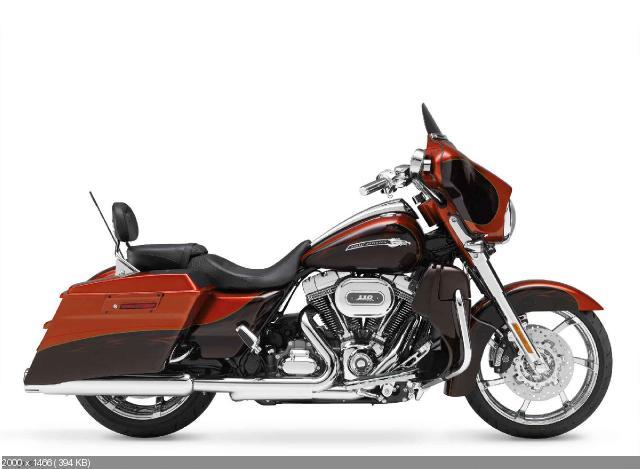 Анонс мотоцикла Harley-Davidson CVO Street Glide 2012