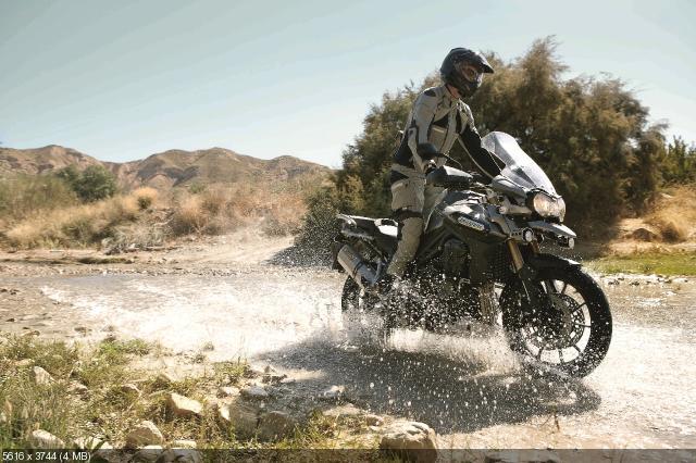 Туристический эндуро Triumph Tiger Explorer 2012