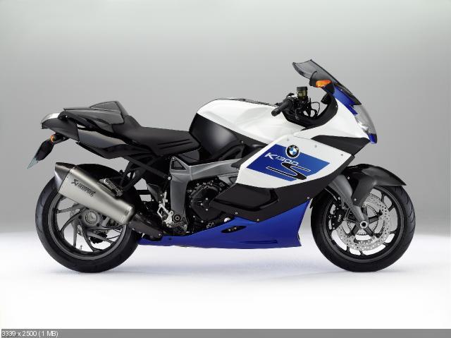 Новые мотоциклы BMW K1300S HP и BMW K1300R 2012