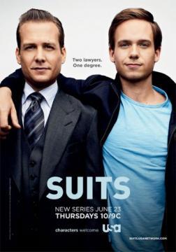 Форс-мажоры / Костюмы в законе / Suits (2011)