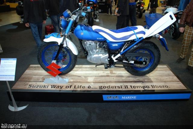 Мотоцикл Suzuki Van Van 125 Marine 2011