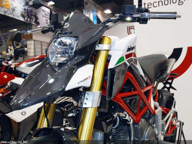 Новый мотоцикл Bimota DB10 Bimotard на EICMA 2011