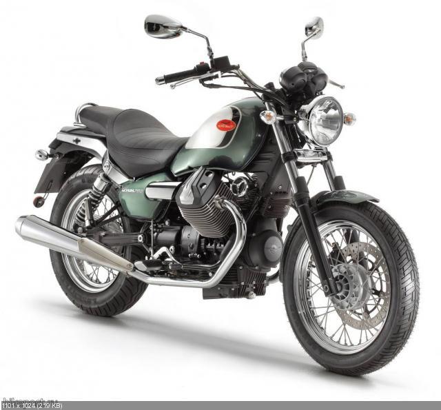 Мотоцикл Moto Guzzi Nevada 2012