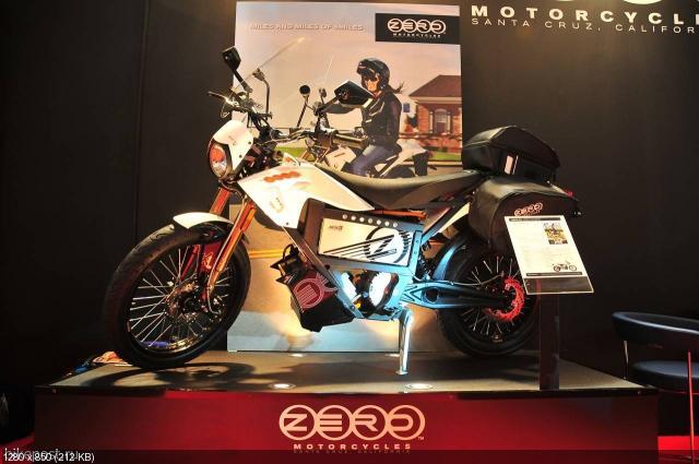 Модельный ряд электроциклов Zero 2012 (видео)