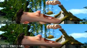 9 Трейлеров 3D фильмов Вертикальная анаморфная
