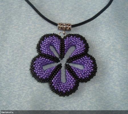 """Кулон-цветок """"Lilac"""""""