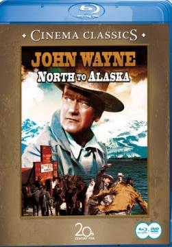 К северу от Аляски / North to Alaska (1960) BDRip 720p