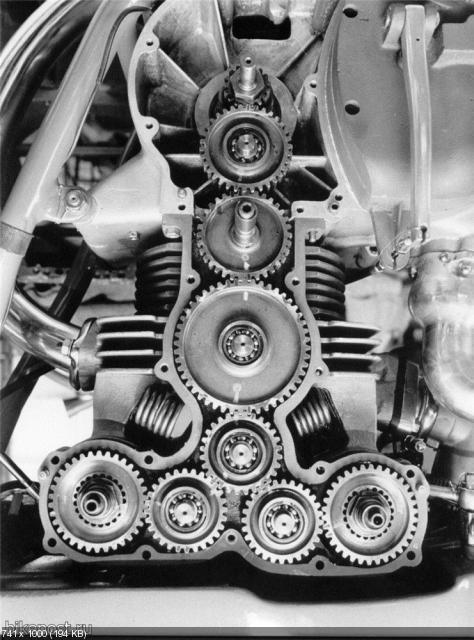 Гоночный мотоцикл Benelli 250 GP 1958