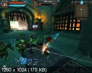 Бей орков!  Orcs Must Die!.v 1.0r12 + 5 DLC (2011/RUS/Repack от Fenixx)