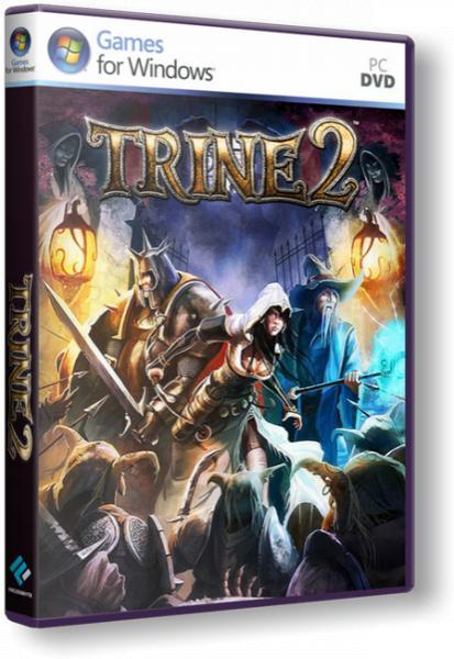 Trine 2 [v1.07](2011)[Repack,Русский/Английский/Multi10,Arcade (Platform) / 3D] от R.G. Repacker's