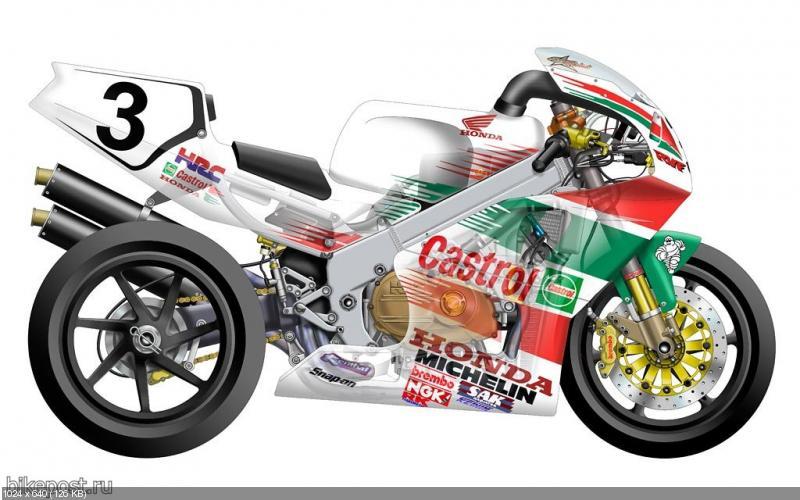 Дизайн мотоциклов WSBK