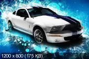 Ford Mustang - HD wallpaper