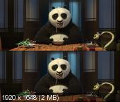 Кунг-фу Панда в 3Д / Kung Fu Panda 3D Вертикальная