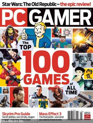PC Gamer: The Top 100 Games of All Time  March 2012 (HQ-PDF)