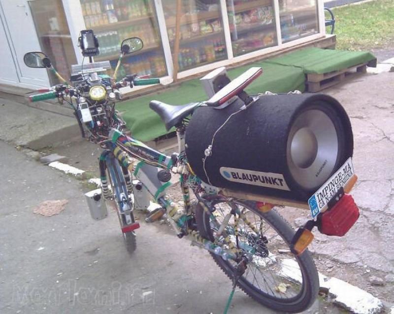 Тюнинг велосипеда своими руками в домашних условиях в