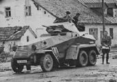 Германские танки. Колесные и полугусеничные бронетранспортеры / Die Deutschen Panzer. Half Tracks & Armoured Cars (1993) DVDRip