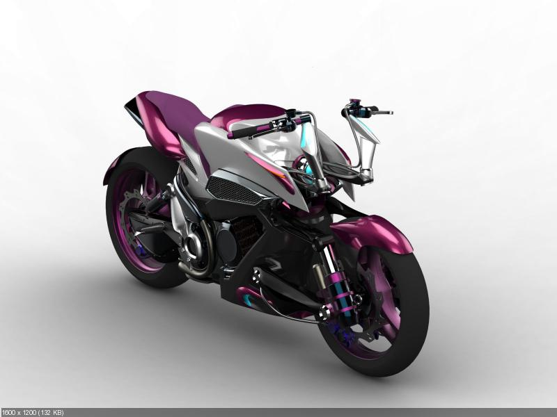 Концепт мотоцикла MTH 500