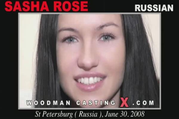 Sasha Rose / Санчеллу кастингует и дерет в попку старина Woodman