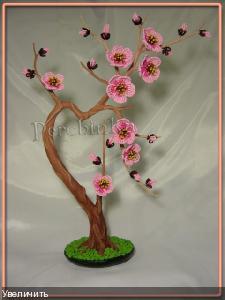 Моя первая сакура, которая делалась ко дню Святого Валентина, отсюда и название. ...Один раз в год Сады цветут Весну...