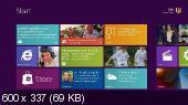 Windows 8 Beta Build 8250 x64 (32-bit)