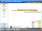 Windows 8 Manager 0.1.0 Beta (2012) Английский