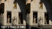 Прага в 3D/ Prague 3D ( 2 Часть - Старе-Место, Нове-место)  Горизонтальная анаморфная