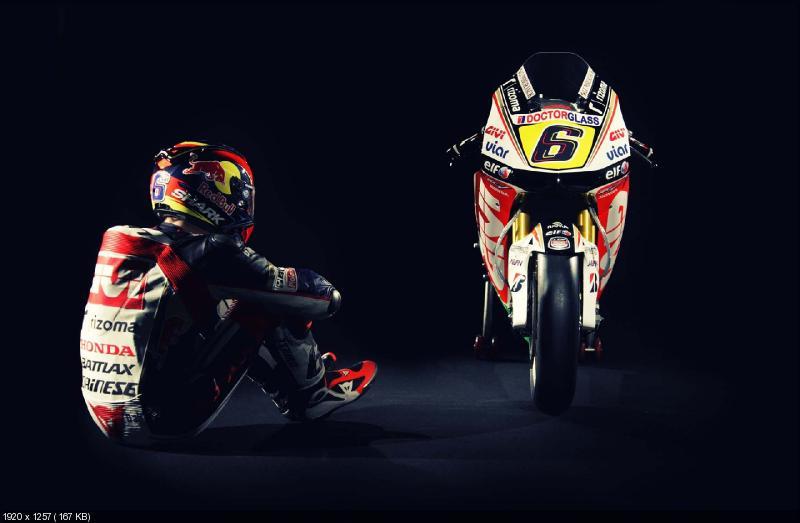 Гоночный спортбайк LCR Honda RC213V 2012