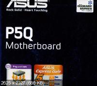 Драйвера материнской платы ASUS P5Q PRO и P5Q Series. Intel P45 Chipset Support DVD.